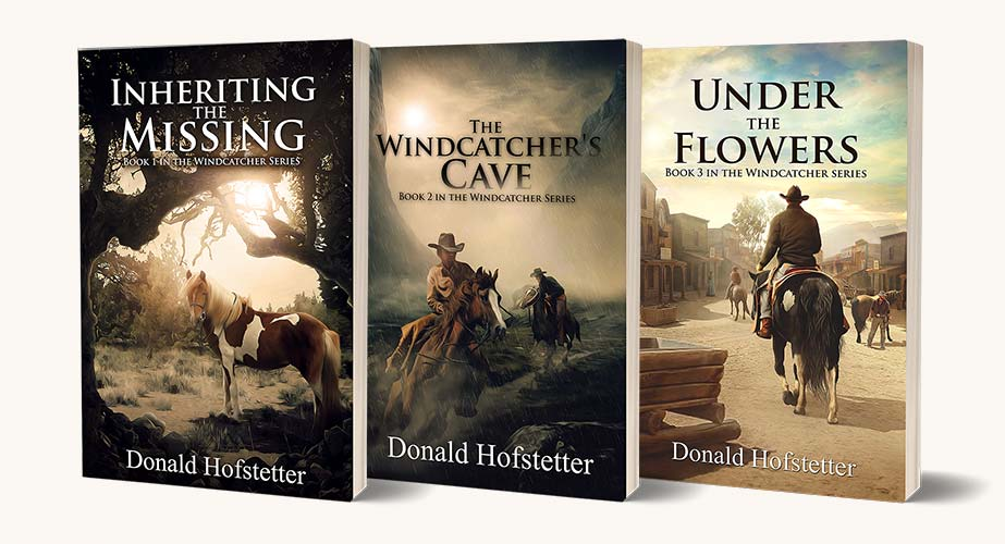 The Windcatcher series by Donald Hofstetter